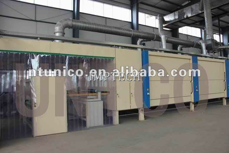 Impregnating dryer machine impregnation lines