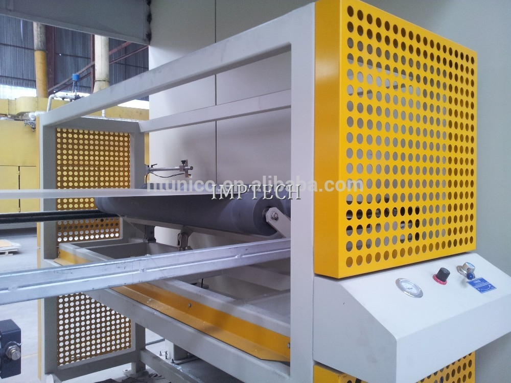 Melamine paper machine