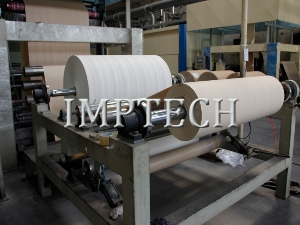 MDF horizontal one-step impregnation line