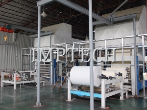Impregnated paper production line use thermal oil boiler