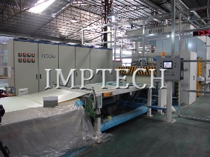8'horizontal two-step paper impregnation line